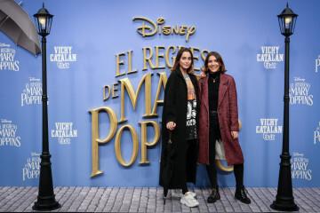 MADRID, SPAIN - DECEMBER 11: Paula Verdera (L) attends 'El Regreso de Mary Poppins' premiere at Kinelpolis cinema on December 11, 2018 in Madrid, Spain. (Photo by Pablo Cuadra/Getty Images for Walt Disney Studios)