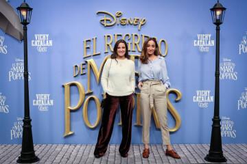 MADRID, SPAIN - DECEMBER 11: Marta Pombo and Lucia Pombo attend 'El Regreso de Mary Poppins' premiere at Kinelpolis cinema on December 11, 2018 in Madrid, Spain. (Photo by Pablo Cuadra/Getty Images for Walt Disney Studios)