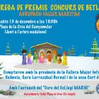 Premios concurso de belenes 2018Agrupación fallas del Marítimo