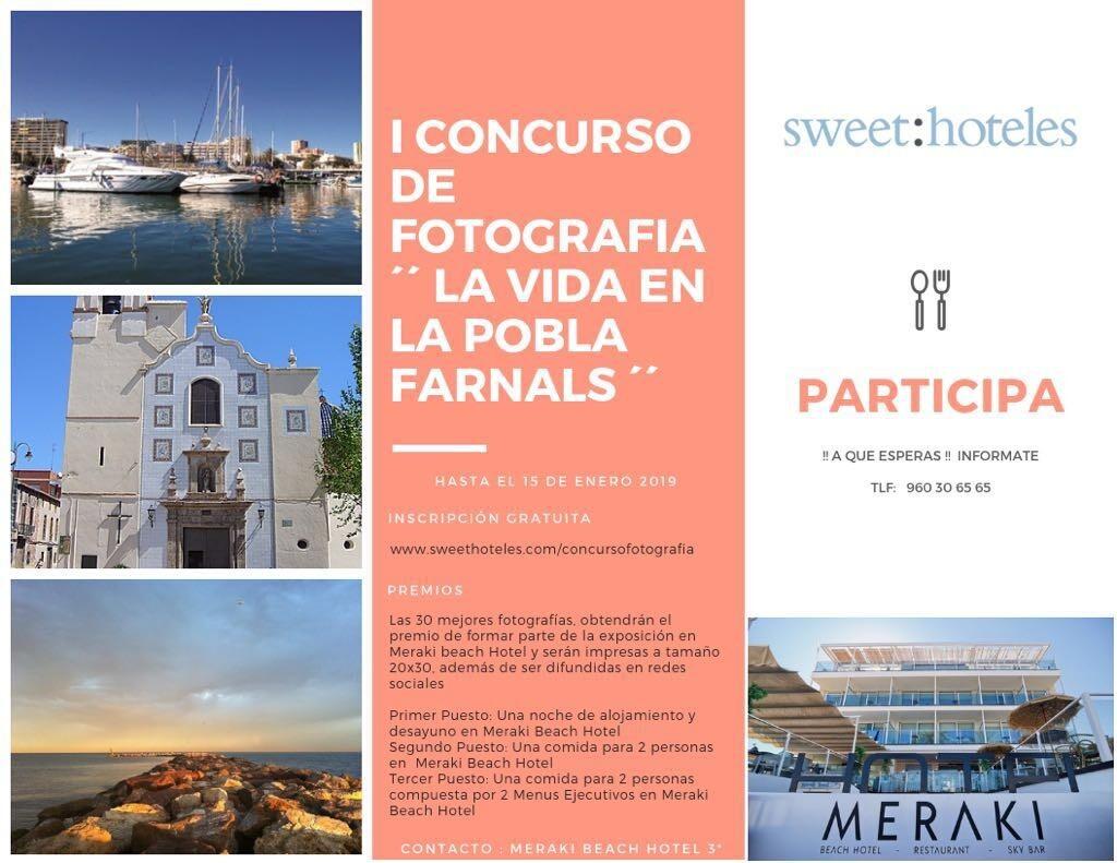 Cartel Primer Concurso de Fotografía Sweet Meraki