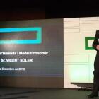 Soler: 'Afrontamos el reto de unir en nuestra sociedad y tejido empresarial la economía y el crecimiento'
