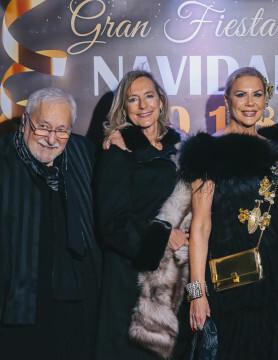 Enrique senís Oliver, Paz Olmos y Laura Fitera