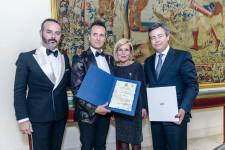 Fran Tochena, Luis Rocamora, Amparo Fabra y Guillermo Martorell