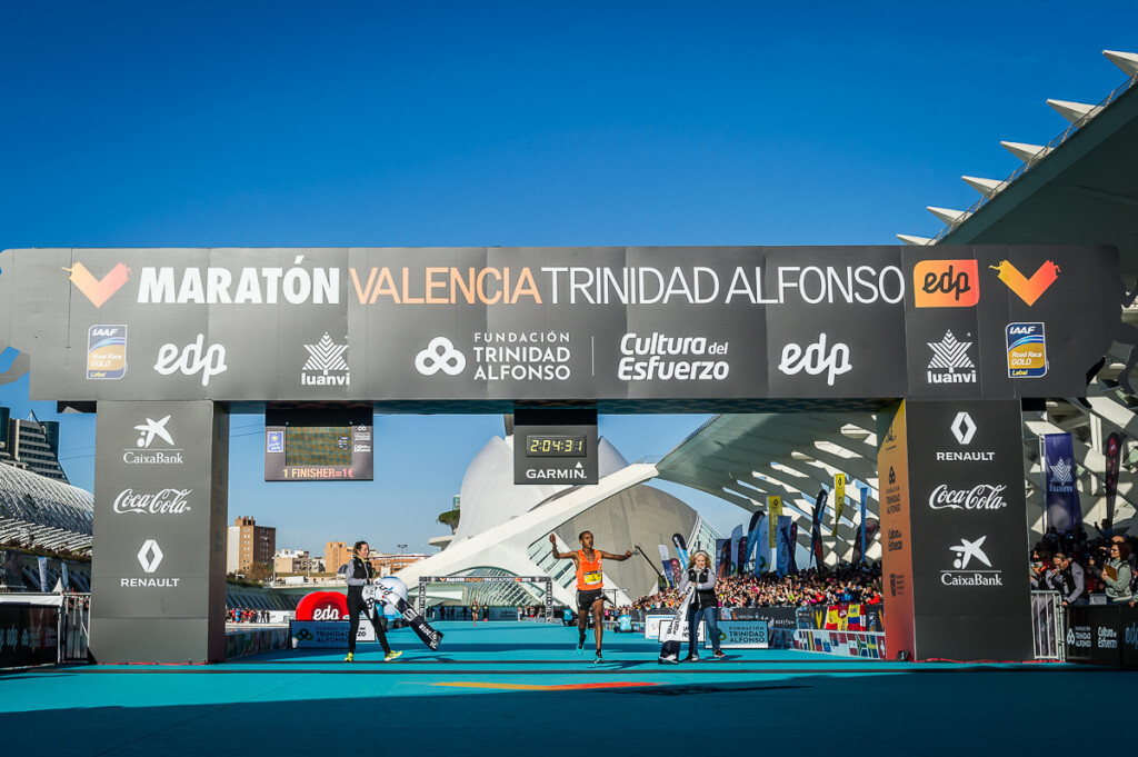 Ganador Maraton Valencia