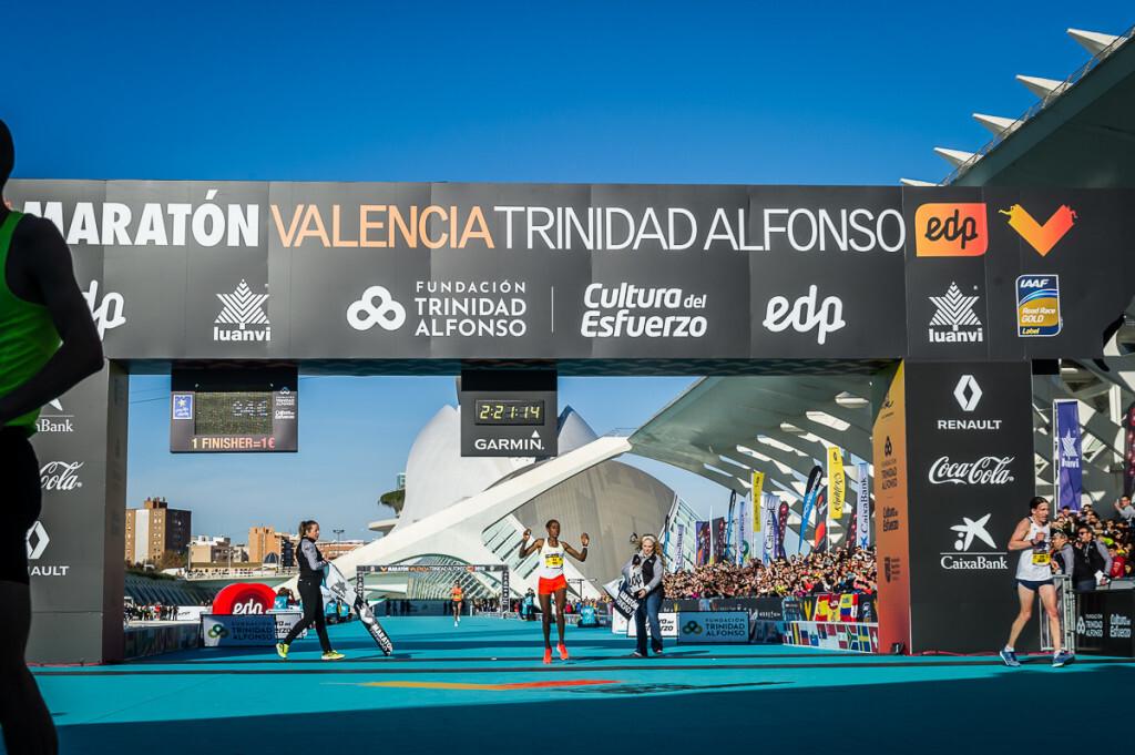 Ganadora Maraton Valencia