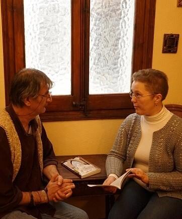 Jurate Miceviciute durante la entrevista sobre 'Las 17 ciudades de Santa Teres'.