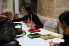 La Diputació inicia su programación navideña con talleres y espectáculos infantiles en el patio de la Scala