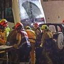 TRAM d'Alacant realiza un simulacro de colisión entre un tren y un vehículo en el paso a nivel de la estación de Altea
