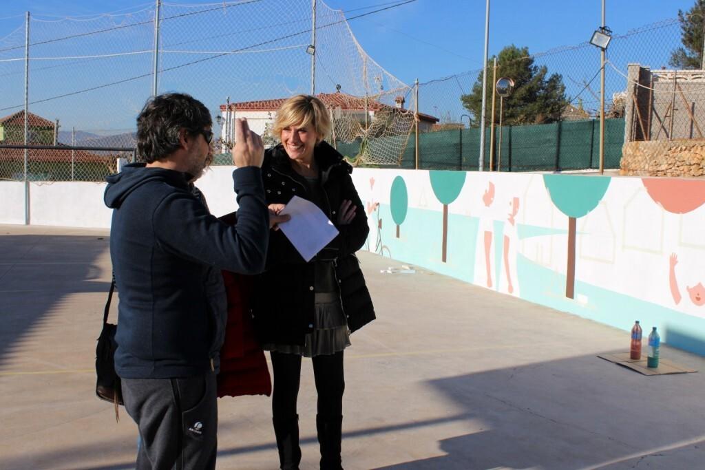 Verònica Ruiz Murals Districte Oest