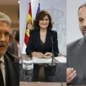 Los ministros Ábalos, Calvo y Grande-Marlaska participan en varios actos en València este lunes