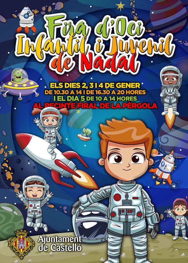 ok_CARTEL XXVI FERIA DE OCIO INFANTIL Y JUVENIL DE NAVIDAD - 2019_