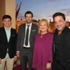 El Ateneo entrega losIII Premios Ateneo Mercantil aDavid Albelda,Enrique Arce y el proyecto Hyperloop UPV