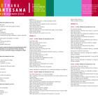 El Centre d'Artesania de la Comunitat Valenciana inicia la 'Setmana Artesana' amb tallers demostratius i exposicions