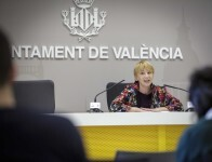 Jose Cuellar Asuncion 4/1/2019 Valencia, Comunidad Valenciana.  Pilar Soriano informa sobre la segunda fase del tratamiento de la materia org‡nica