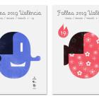 Las efigies de un valenciano y una valenciana protagonizan la imagen gráfica de las Fallas 2019 diseñada por DANI NEBOT