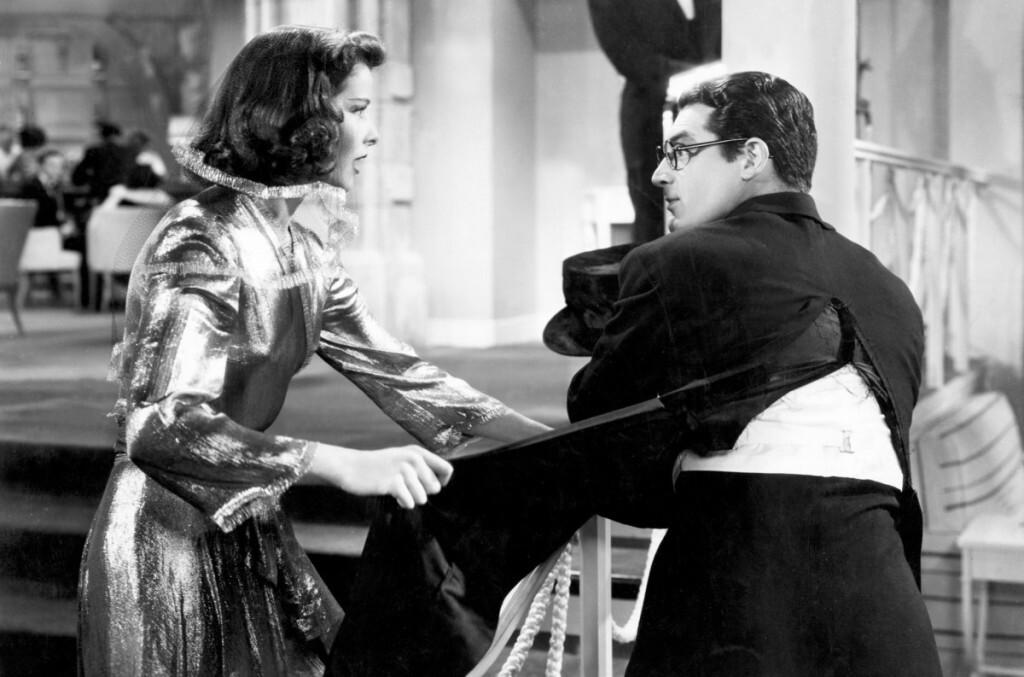BRINGING UP BABY, Katharine Hepburn, Cary Grant, 1938.