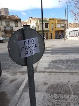 Carril Bici Foto no al carril