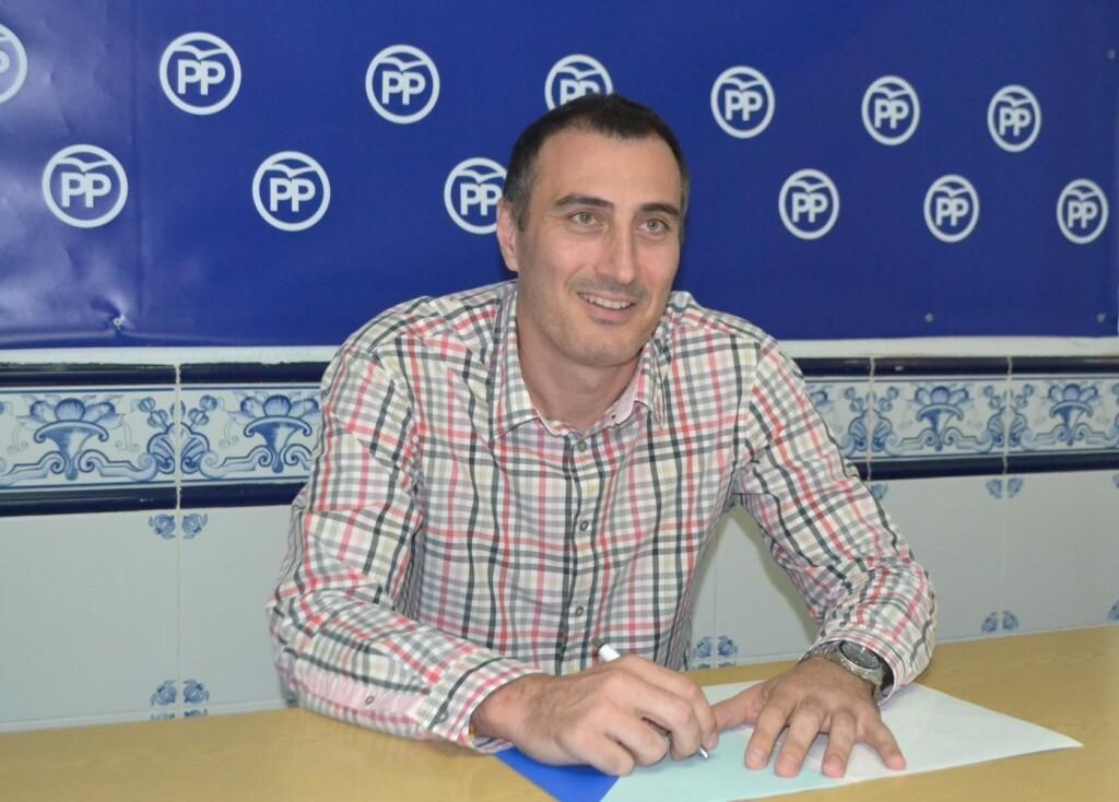 Juan Fuster, portavoz PP Burriana