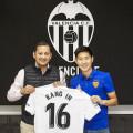 Kang Lee nuevo jugador de la primera plantilla Valencia CF