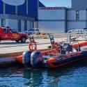 Los bomberos buceadores del Ayuntamiento de València no pudieron colaborar en el rescate del piragüista desaparecido en el Júcar.