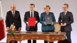 Macron-Merkel nuevo tratado franco alemán