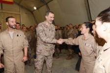 Rey Don Felipe en Irak Cumpleaños 51