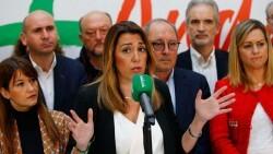Susana Díaz renuncia a presentarse a la investidura y liderará la oposición en Andalucía