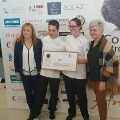 Premios del segundo Concurso Gastronómico Valenciano de la Trufa de Andilla en en La Marina de València