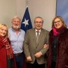 Salvador Navarro, Julio Tormo, Leopoldo López y José Francisco Ballester-Olmos, premios Llama Rotaria