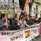 Los taxistas valencianos en pie de guerra