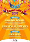 Cartel Carnavales Buñol 2019