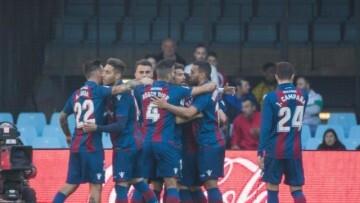 Levante Celebracopn Gol Celta