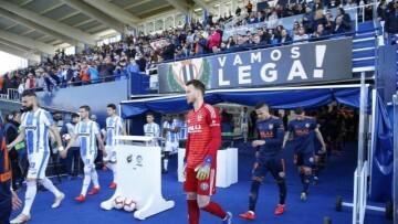 Valencia-Leganes salto al campo