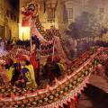 """VALENCIA 26 1 09 CELEBRACIONES DEL A""""O NUEVO CHINO EN EL EDIFICIO DE LA NAU DE LA UNIVERSITAT DE VALENCIA  FOTO MIGUEL LORENZO"""
