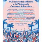 La pèrgola musical de la Marina de València bat rècords amb més de dos mil assistents en el passat concert