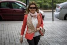 La exconselleraTrinidad Miró, en una imagen de 2016 a su llegada a la Ciudad de la Justicia de Valencia para declarar como testigo por supuestas irregularidades en la organización de la Fórmula Uno en Valencia. EFE/Archivo