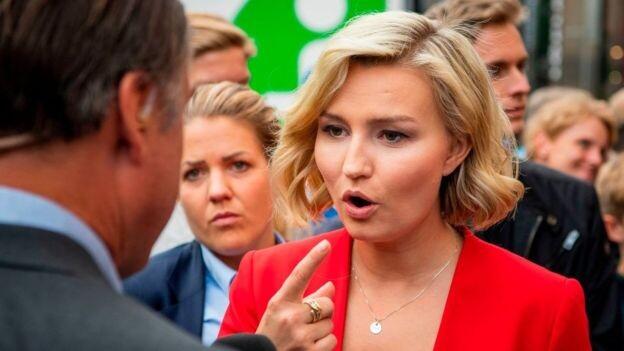 Ebba Busch Thor es la líder del Partido Democristiano.