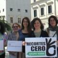 52 mujeres de Recortes Cero al Congreso