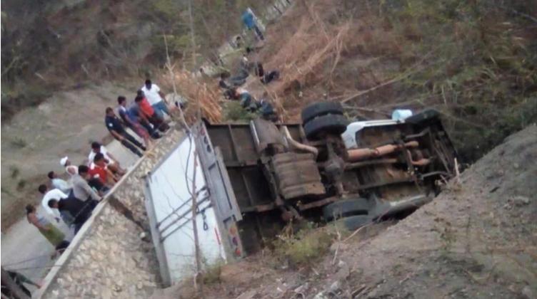 Al menos 25 migrantes murieron en un accidente otros 29 resultaron heridos Infobae