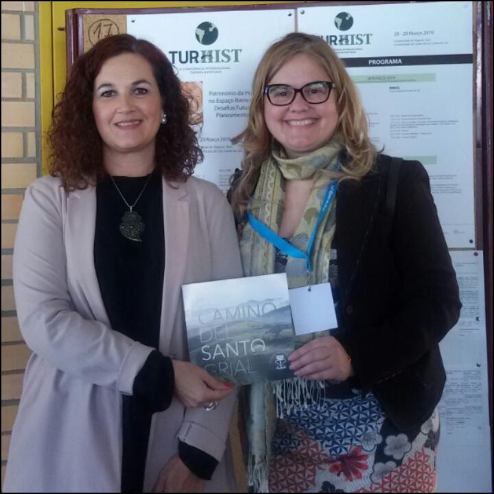 La Dra. Alexandra Gonçálves de la Universidad de Algarve.