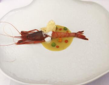 El chef Alejandro Serrano, del Restaurante Alejandro, ganador de la 8ª edición del Concurso Creativo de la Gamba Roja de Dénia (2)