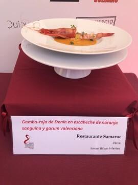 El chef Alejandro Serrano, del Restaurante Alejandro, ganador de la 8ª edición del Concurso Creativo de la Gamba Roja de Dénia (4)