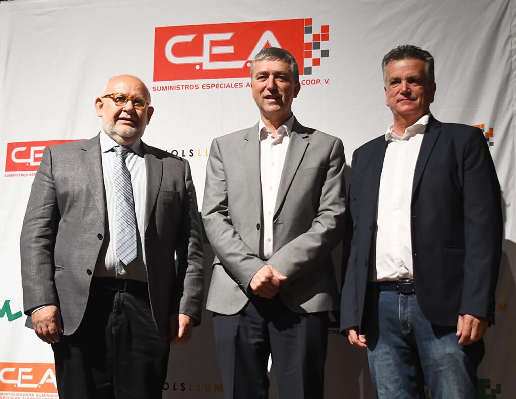 Enric Luján, Rafael Climent y Salvador Escutia