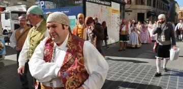 La Junta Local Fallera de Xátiva visita Valencia en la recepción fallera (121)