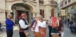 La Junta Local Fallera de Xátiva visita Valencia en la recepción fallera (130)
