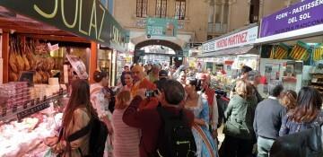 La Junta Local Fallera de Xátiva visita Valencia en la recepción fallera (139)