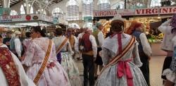 La Junta Local Fallera de Xátiva visita Valencia en la recepción fallera (162)