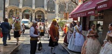 La Junta Local Fallera de Xátiva visita Valencia en la recepción fallera (169)