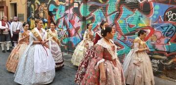 La Junta Local Fallera de Xátiva visita Valencia en la recepción fallera (175)