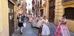 La Junta Local Fallera de Xátiva visita Valencia en la recepción fallera (176)